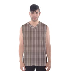 Pattern Background Stripes Karos Men s Basketball Tank Top