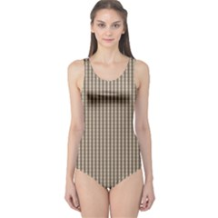 Pattern Background Stripes Karos One Piece Swimsuit