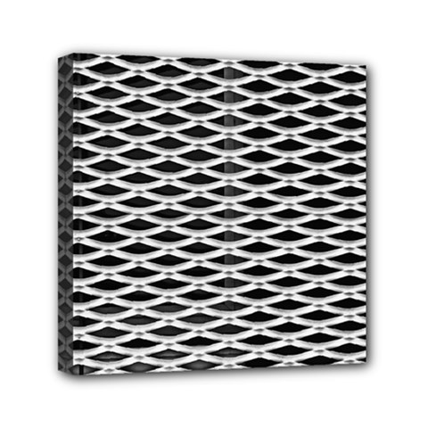Expanded Metal Facade Background Mini Canvas 6  X 6