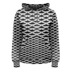 Expanded Metal Facade Background Women s Pullover Hoodie