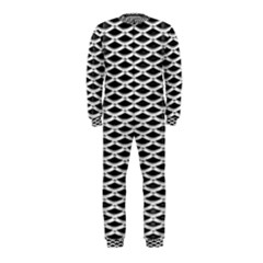 Expanded Metal Facade Background OnePiece Jumpsuit (Kids)