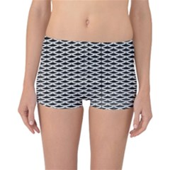 Expanded Metal Facade Background Reversible Bikini Bottoms