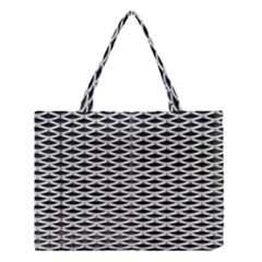 Expanded Metal Facade Background Medium Tote Bag