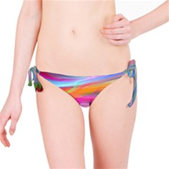 Rainbow Feather Bikini Bottom