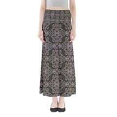 Line Geometry Pattern Geometric Maxi Skirts