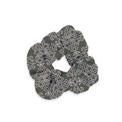 Line Geometry Pattern Geometric Velvet Scrunchie