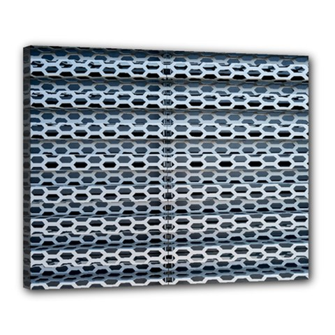 Texture Pattern Metal Canvas 20  x 16
