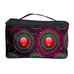 Abstract Circle Gem Pattern Cosmetic Storage Case