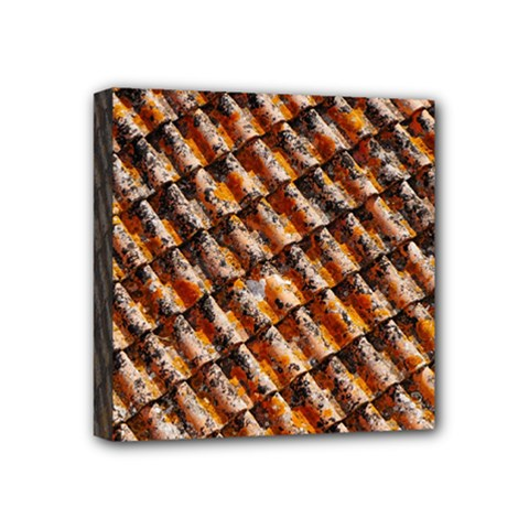 Dirty Pattern Roof Texture Mini Canvas 4  x 4