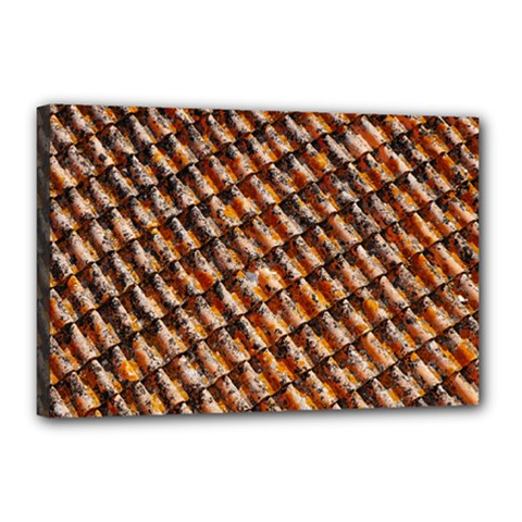 Dirty Pattern Roof Texture Canvas 18  x 12