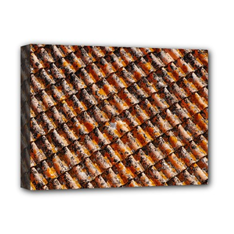 Dirty Pattern Roof Texture Deluxe Canvas 16  x 12