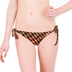 Dirty Pattern Roof Texture Bikini Bottom