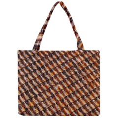 Dirty Pattern Roof Texture Mini Tote Bag