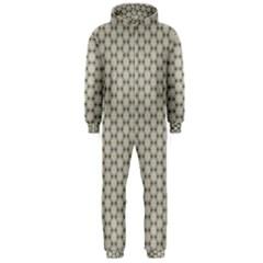 Background Website Pattern Soft Hooded Jumpsuit (Men)