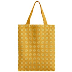 Pattern Background Texture Zipper Classic Tote Bag