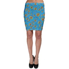 Digital Art Circle About Colorful Bodycon Skirt