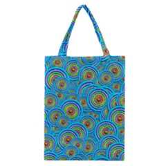 Digital Art Circle About Colorful Classic Tote Bag