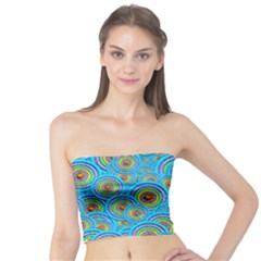 Digital Art Circle About Colorful Tube Top