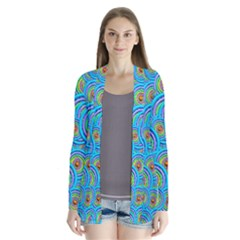 Digital Art Circle About Colorful Cardigans