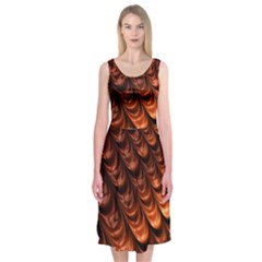 Fractal Mathematics Frax Midi Sleeveless Dress