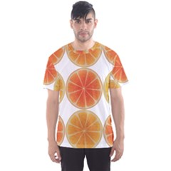 Orange Discs Orange Slices Fruit Men s Sport Mesh Tee