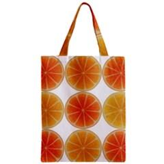 Orange Discs Orange Slices Fruit Classic Tote Bag