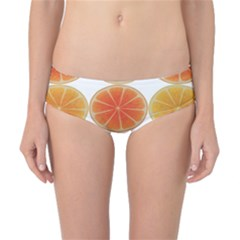Orange Discs Orange Slices Fruit Classic Bikini Bottoms