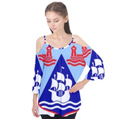 Haifa Coat of Arms  Flutter Tees