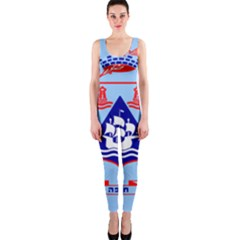 Flag Of Haifa Onepiece Catsuit
