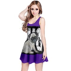 Pug Reversible Sleeveless Dress