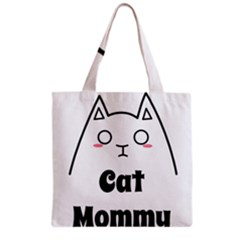 Love My Cat Mommy Grocery Tote Bag