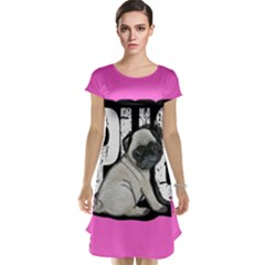 Pug Cap Sleeve Nightdress
