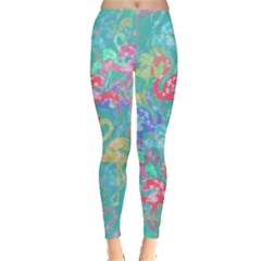 Flamingo pattern Leggings