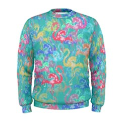 Flamingo pattern Men s Sweatshirt