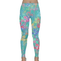 Flamingo pattern Classic Yoga Leggings