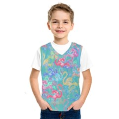 Flamingo pattern Kids  SportsWear
