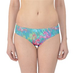 Flamingo pattern Hipster Bikini Bottoms