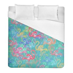 Flamingo pattern Duvet Cover (Full/ Double Size)