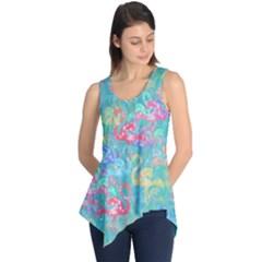 Flamingo pattern Sleeveless Tunic