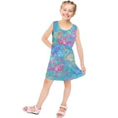Flamingo pattern Kids  Tunic Dress