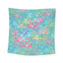 Flamingo pattern Square Tapestry (Small)