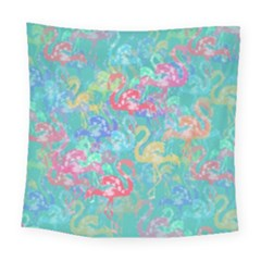 Flamingo pattern Square Tapestry (Large)