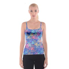 Flamingo pattern Spaghetti Strap Top