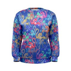 Flamingo pattern Women s Sweatshirt
