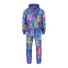 Flamingo pattern Hooded Jumpsuit (Kids)
