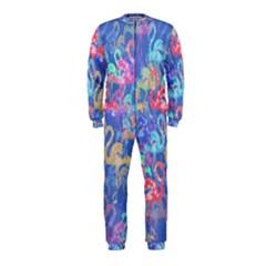 Flamingo pattern OnePiece Jumpsuit (Kids)