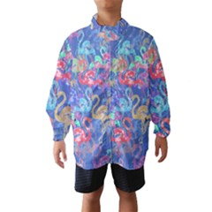 Flamingo pattern Wind Breaker (Kids)