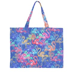 Flamingo pattern Large Tote Bag