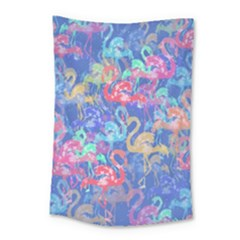 Flamingo pattern Small Tapestry