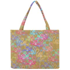 Flamingo pattern Mini Tote Bag